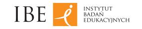 Logo Instytutu Badań Edukacyjnych